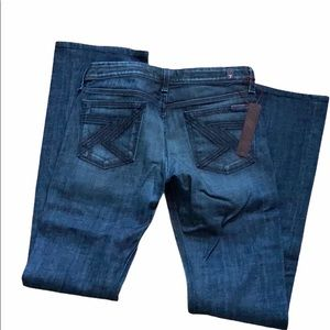 HP! NWT 7 For All Mankind flynt 28 waist jeans.